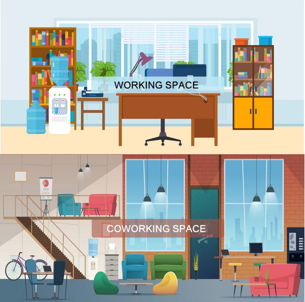 فضای کار اشتراکی (دفتر کار اشتراکی) یا دفتر شخصی، کدام یک را انتخاب کنیم؟