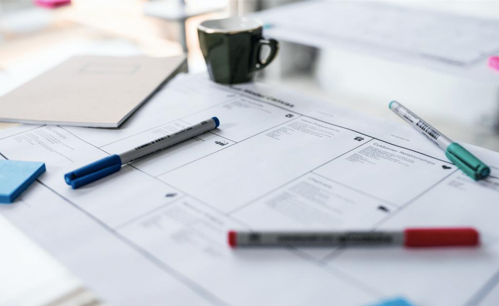 فرایند طراحی مدل کسب و کار