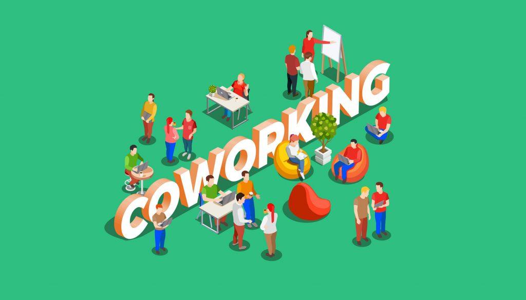 مزایای فضای کار اشتراکی coworking space
